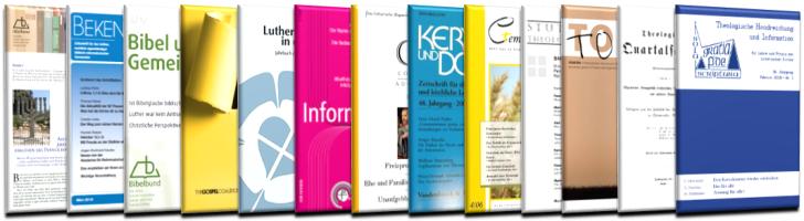 Zeitschriften in der Evangelischen Bibliothek Alzey 2018